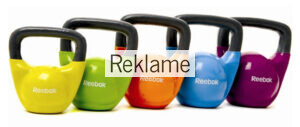 Find vinyl kettlebells fra Reebok